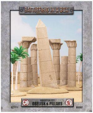 Gale Force Nine   Battlefield in a Box Forgotten City - Obelisk & Pillars - BB907 - 9420020219755
