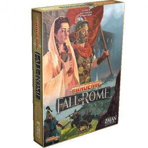 Z-Man Games Pandemic  SALE! Pandemic: The Fall of Rome - ZMG7124 - 841333106591