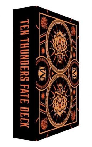 Wyrd Malifaux  Ten Thunders Ten Thunders Fate Deck - WYR23026 - 812152032927