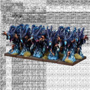 Mantic Kings of War  Nightstalkers Nightstalker Phantoms Troop - MGKWNS304 - 5060469665092