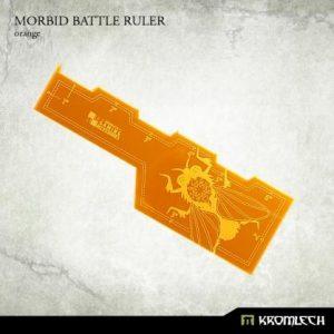 Kromlech   Tapes & Measuring Sticks Morbid Battle Ruler [orange] (1) - KRGA035 - 5902216114302