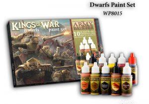 The Army Painter   Paint Sets Warpaints Kings of War Dwarfs - APWP8015 -