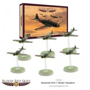Warlord Games Blood Red Skies  Blood Red Skies Blood Red Skies: N1K-1 'Shiden' Squadron - 772212012 - 5060572503175