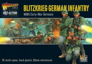 Warlord Games Bolt Action  Germany (BA) Blitzkrieg! German Infantry (30) - 402012012 - 5060200845868