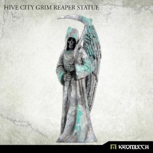 Kromlech   Kromlech Terrain Hive City Grim Reaper Statue (1) - KRBK029 - 5902216117785