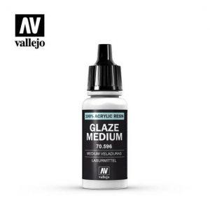 Vallejo   Vallejo Extras Vallejo Glaze Medium - VAL596 - 8429551705967