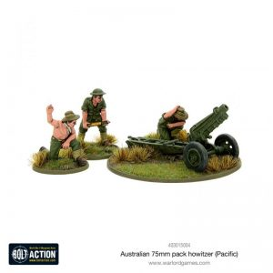 Warlord Games Bolt Action  Australia (BA) Australian 75mm pack howitzer (Pacific) - 403015004 - 5060572500716