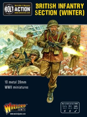Warlord Games Bolt Action  Great Britain (BA) British Infantry section (Winter) - 402211003 - 5060393709176