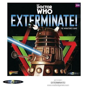 Warlord Games Doctor Who  Doctor Who Doctor Who Exterminate! - The Miniatures Game - 601510001 - 5060393704935