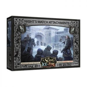 Cool Mini or Not A Song of Ice and Fire  Night's Watch A Song of Ice and Fire: Night's Watch Attachments #1 - CMNSIF316 - 889696010278