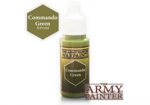 The Army Painter   Warpaint Warpaint - Commando Green - APWP1410 - 5713799141001