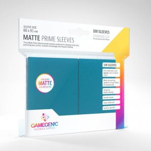 Gamegenic   SALE! Gamegenic Matte Prime Sleeves Blue (100 pack) - GGS11028ML - 4251715402399