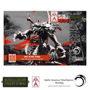 Warlord Games Warlord of Erehwon  Warlords of Erehwon Warlord of Erehwon: Wendigo - 723014007 - 5060572508804
