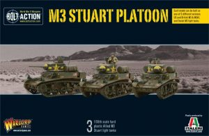 Warlord Games Bolt Action  United States of America (BA) M3 Stuart Platoon - 402013001 - 5060393704560