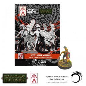 Warlord Games Warlord of Erehwon  Warlords of Erehwon Jaguar Warriors - 722211003 - 5060572508644