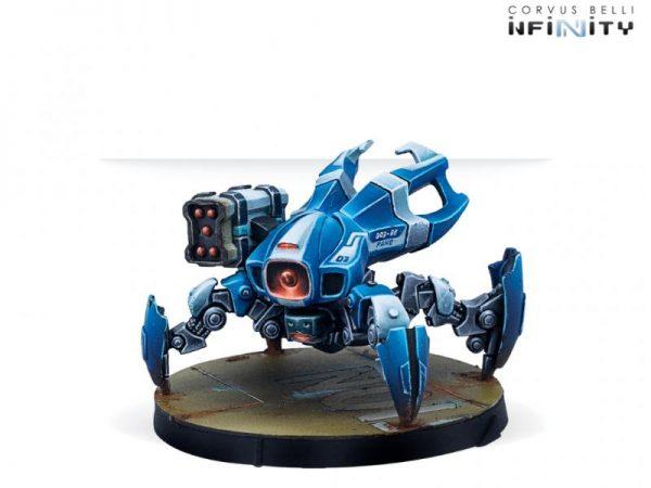 Corvus Belli Infinity  PanOceania PanOceania Dronbot Remotes Pack - 281215-0834 - 2812150008342