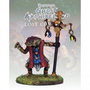 North Star Frostgrave  Frostgrave Snake-man Warden I - FGA211 -