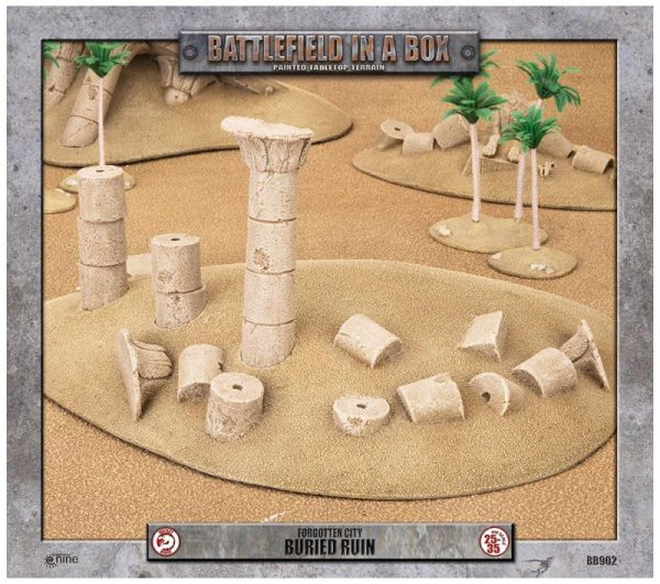 Gale Force Nine   Battlefield in a Box Forgotten City - Buried Ruin - BB902 - 9420020218222
