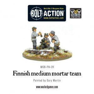 Warlord Games Bolt Action  Finland (BA) Finnish Medium Mortar Team - WGB-FN-29 - 5060200849019