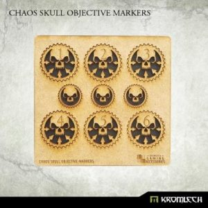 Kromlech   Objective Markers Chaos Skull Objective Markers [HDF] - KRGA047 - 5902216115163