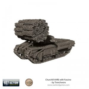 Warlord Games (Direct) Bolt Action  Great Britain (BA) Churchill AVRE with Fascine - TW-20203 - -
