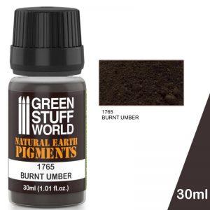 Green Stuff World   Powder Pigments Pigment BURNT UMBER - 8436574501247ES - 8436574501247