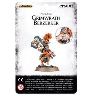 Games Workshop (Direct) Age of Sigmar  Fyreslayers Fyreslayer Grimwrath Berzerker - 99070205007 - 5011921067596