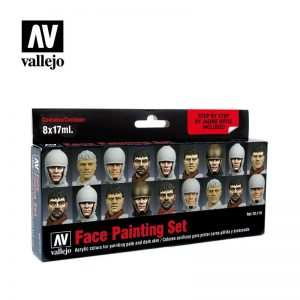 Vallejo   Paint Sets Vallejo Game Color - Face Painting Set - VAL70119 - 8429551701198