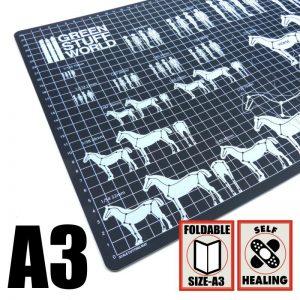 Green Stuff World   Cutting Mats Scale Cutting Mat A3 - 8436554360024ES - 8436554360024