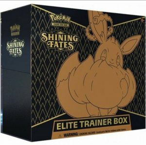 Pokemon Pokemon - Trading Card Game  Pokemon Pokemon - Shining Fates Elite Trainer Box - POK80817 - 0820650808173