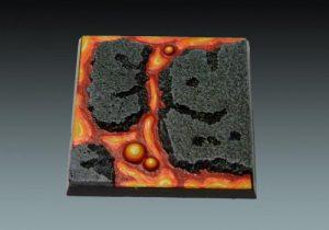 Baker Bases   Lava Lava: 50mm Square Base - CB-LV-02-50M - CB-LV-02-50M