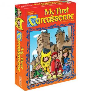 Z-Man Games Carcassonne  Carcassonne My First Carcassonne - ZMG78600 - 681706786001
