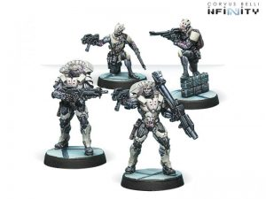 Corvus Belli Infinity  The Aleph Aleph Posthumans, 2G Proxies - 280852-0625 - 2808520006254