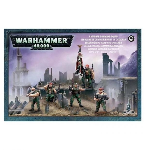 Games Workshop (Direct) Warhammer 40,000  40k Direct Orders Catachan Command Squad - 99120105037 - 5011921015252