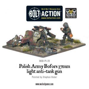 Warlord Games Bolt Action  Poland (BA) Polish Army Bofors 37mm anti-tank gun - WGB-PI-29 - 5060200849644