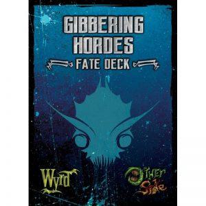 Wyrd The Other Side  Gibbering Hordes Gibbering Hordes Fate Deck - WYR40005 - 812152030008