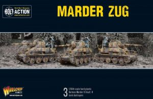 Warlord Games (Direct) Bolt Action  Germany (BA) Marder Tank Destroyer Zug - 402012023 - 5060393708285