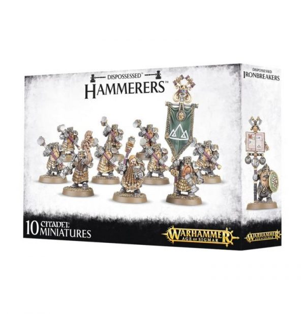 Games Workshop (Direct) Age of Sigmar  Age of Sigmar Direct Orders Dispossessed Hammerers / Longbeards - 99120205025 - 5011921083268