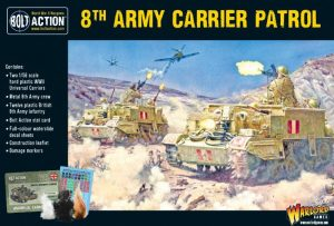 Warlord Games Bolt Action  Great Britain (BA) 8th Army Carrier Patrol - 402011018 - 5060572502284