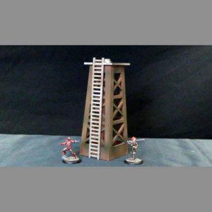 TTCombat   Wild West Scenics (28-32mm) Oil Well - WWS023 -