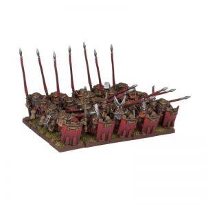 Mantic Kings of War  Dwarf Armies Dwarf Bulwarkers Regiment - MGKWD27-1 - 5060208866322