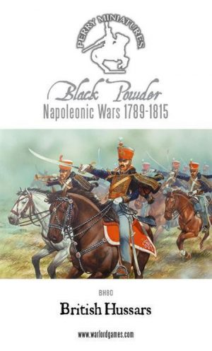 Perry Miniatures   Perry Miniatures British Napoleonic Hussars 1808-1815 - BH80 - BH80