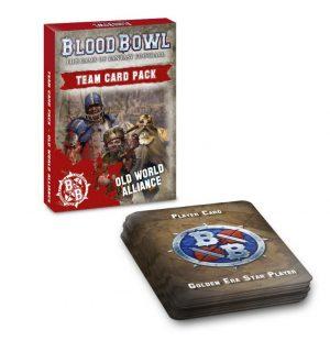 Games Workshop Blood Bowl  Blood Bowl Blood Bowl: Old World Alliance Team Card Pack - 60050999001 - 5011921131648
