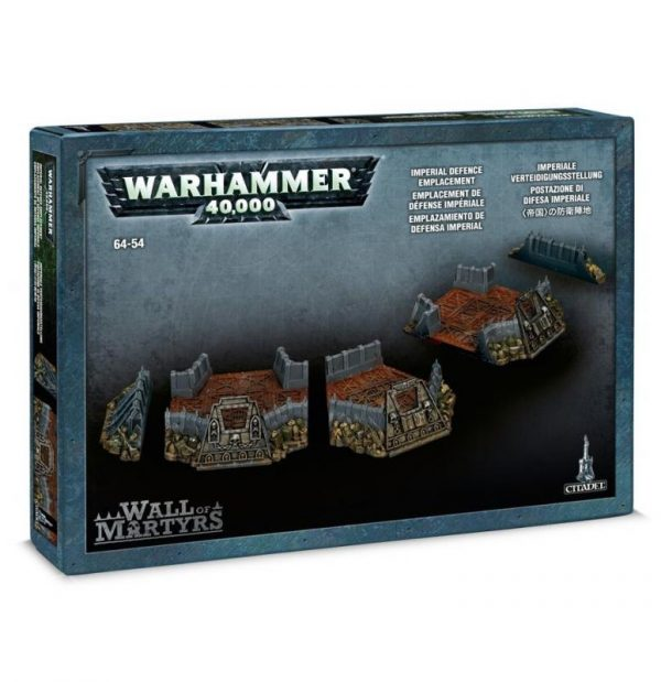 Games Workshop (Direct) Warhammer 40,000  40k Terrain Wall of Martyrs - Imperial Defence Emplacement - 99120199027 - 5011921041268