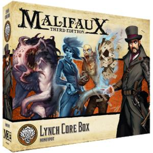 Wyrd Malifaux  Ten Thunders Ten Thunders Lynch Core Box - WYR23707 - 812152032705