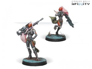 Corvus Belli Infinity  Combined Army Zerat Special Missions Reg. (MULTI Sniper/Hacker) - 280684-0658 - 2806840006589