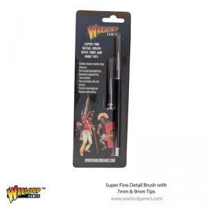 Warlord Games   Other Brushes Super Fine Detail Brush with 7mm & 9mm Tips - 843419918 - 5060572507449