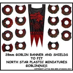 North Star Oathmark  Oathmark Goblin Banner & Shields 1 - GOBLIN(NS)1 -