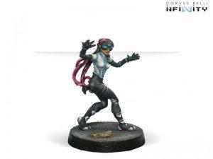 Corvus Belli Infinity  Nomads Interventor (Hacker) - 280502-0040 - 2805020000409