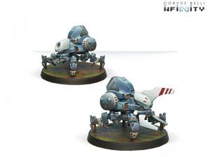 Corvus Belli Infinity  PanOceania Mulebot box of 2 - 280256-0352 - 2802560003525